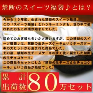 送料無料 スイーツ福袋レジェンド チーズケーキ チョコケーキ シュークリーム(5400円以上まとめ買いで送料無料対象商品)(lf)あす着