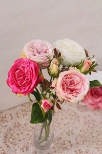 【造花】【アートフラワー】【キャベジンローズ】【4色よりお選び下さい】