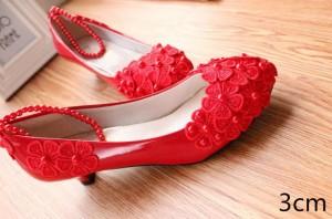 レース  パンプス ハイヒール ウェディングシューズ 花嫁  ピンヒール パーティー 結婚式 キャバ 靴 レディース