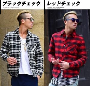 ネルシャツ メンズ 中綿 シャツ フランネルシャツ 中綿シャツ キルトシャツ シャツジャケット 長袖 ジャケット ダウン チェック trend_d