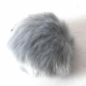 フェイクファー ゴム 髪飾り 毛 コンチョ レディース ヘアアクセサリー 腕輪 b-gh29