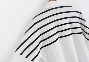 大きいサイズ レディース 肩掛けカーディガン風シャツ 春 新作/おおきいサイズ 【予約】 【KU】607377