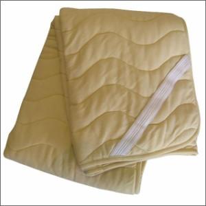 【送料無料】ウールサポートパッド (クイーン) 【日本製】 羊毛敷きパッド/敷パッド/敷パット/シーツ クイーンサイズ SALE