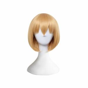 けものフレンズ サーバル コスプレウィッグ かつら cosplay wig 耐熱 変装用ウィッグ専用ネット付