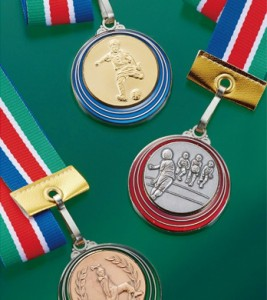 【特別セット】3点セットA(表彰状・トロフィー・メダルの各4個セット)