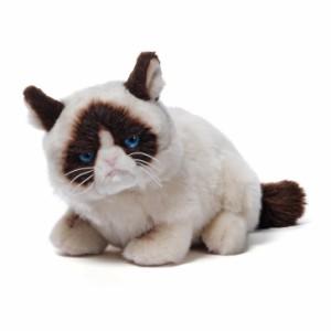 【ねこ(ネコ)のぬいぐるみ】【GUND】グランピーキャット ライング ダウン