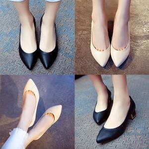パンプス 結婚式 小さいサイズ靴 ヒール 小さいサイズ パンプス 小さいサイズ ヒール チャンキーヒール スリッポン パーティー パンプス