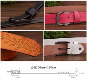 ベルト7色から選べる レザーベルト メンズ 床革 ベルト 革ベルト カジュアル から ビジネス まで!  YO008