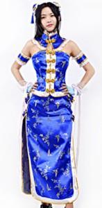 gargamel  Love Live! ラブライブ! 覚醒版学園女子チャイナドレスメイド服 園田海未 コスプレ衣装MZX-151-01