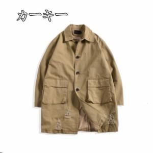 リングコート  ダスターコート   コート  ステンカラーコート  中綿コート  スプリングコート  春 秋 冬  スプ ダッフルコート