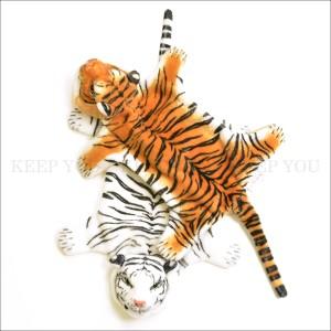 定形外 送料無料 アニマル プレイスマット ミニマット 【タイガー ライオン パンダ くま 卓上 マット おもしろ雑貨 インテリア雑貨】 ┃