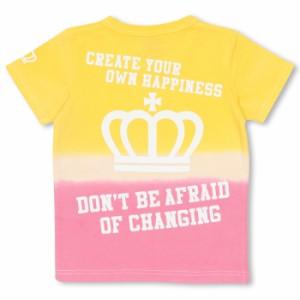 【さらに20%OFF】アウトレットSALE50%OFF★親子ペア★グラデーションTシャツ-ベビーサイズ キッズ ベビードール 子供服-9504K