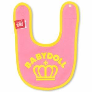 NEW リバーシブルスタイ/POP総柄-ベビー雑貨 よだれかけ ベビーサイズ 新生児 ベビードール BABYDOLL 子供服 -8142