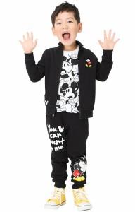 週末限定SALE60%OFF ディズニー 刺繍ジップジャケット(ボトム別売)-ベビーサイズ キッズ ベビードール 子供服/DISNEY-9803K