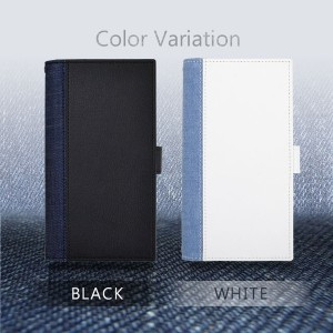 全機種対応 【EDWIN/エドウィン】 「センターデニム」 手帳型ケース ブランド
