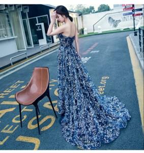 ファッショントーレンドレス 演奏会 パーティードレス 結婚式 ウェディングドレス お呼ばれ 発表会 フォーマル 二次会ドレス 着痩せ