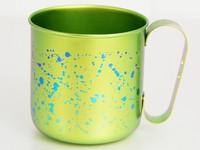 [3日(営業日)発送]純チタンデザインマグカップ カラーマグカップ チタン抗菌カラー イエロー