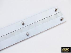 【泥よけステンレス(ウロコ) 600×80mm】ウロコステンレス 泥除けステン 飾りやひらひら防止 デコトラ