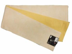 半幅帯 半巾 細帯 浴衣帯 四寸帯 リバーシブル四寸帯 日本製 ベージュ地 梅 柄 no2940