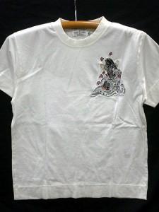 カラクリ 半袖Tシャツ月に鯉 KARAKURI
