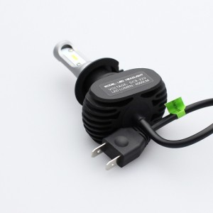 車検対応 EC系 ロードスター 8000LM LEDヘッドライト H7 LEDフォグランプ H7 コンパクト後方39mm 6500K 12V/24V