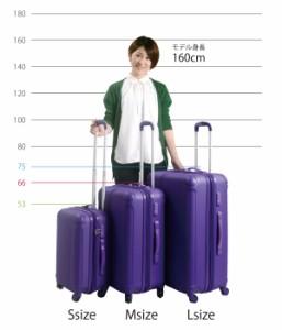 POP DO M スーツケース キャリーバッグ 中型 かわいい ファスナー TSA 軽量 送料無料