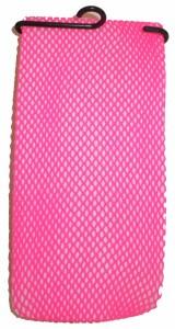 パーティー用 編みタイツ 変装小物 ナイロン製 フリーサイズ  ピンク