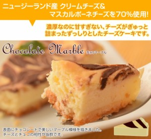 <期間限定999円セール>濃厚『クラシックチーズケーキ』5種  プレーン&ミルクティー&チョコマーブル&マンゴー&ミックスベリー