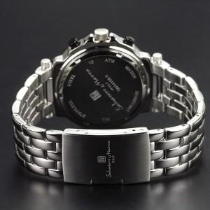 腕時計 メンズ Salavatore Marra サルバトーレマーラ マルチファンクション 10気圧防水 ベルト調整工具付 【送料無料】SM14118