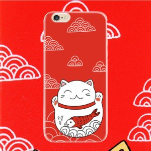 送料無料iphone6 6S ケース 開運、 招き猫TPUカバーシリーズ スマホケースiphone6  6Sかわいい人気カバーケース