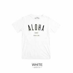 ALOHA SUNDAY アロハサンデー Tシャツ 半袖 メンズ