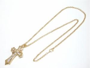 セール!王冠クロスネックレス 十字架 シルバー クラウン メール便送料無料 V系 芸能人愛用 バンギャ きれいめ M-1836