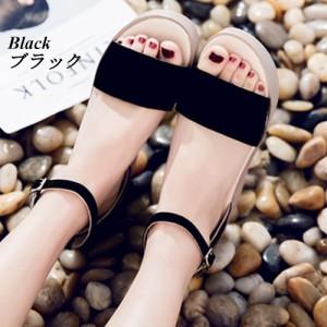 シューズ 靴 レディース ストラップサンダル ストラップ 厚底 厚底サンダル ウエッジ ウエッジサンダル アンクルストラップ