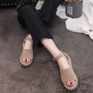 サンダル ぺたんこ ぺたんこサンダル ストラップ アンクルストラップ ベーシック シンプル シューズ 靴 レディース