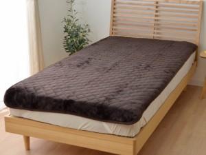 【シングル】フランネル敷きパッド100×200cm洗える 洗濯 敷きパット 敷布団 シーツ パット 敷パッド