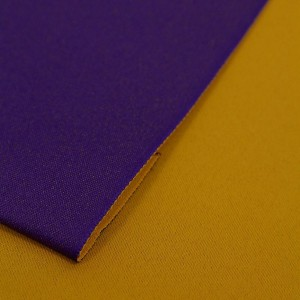 西陣 日本製 くまモン 浴衣帯 リバーシブル だらり 浴衣 作り帯 結び帯 黄×紫