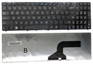 新品 ASUS  X61S X61W X53 X53S K54 K54h N60 N60W K55DR K55D 用英語キーボード ノートパソコン キーボード