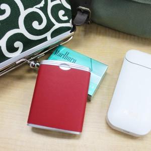 携帯灰皿 ハニカム式 吸い殻入れ (シルバー) iQOS アイコス ユーザーにお勧めです