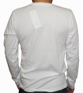 コムサイズム COMME CA ISM 長袖Tシャツ 白 pn メンズ ホワイト 春物 秋物 ロンT