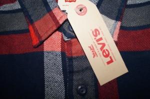 リーバイス Levis 長袖シャツ チェック ネルシャツ 赤紺白 メンズ フランネル 19587-0024 秋物 冬物 レッド ネイビー ホワイト