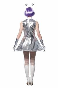キュートエイリアン レディース 宇宙人 UFO ピンクレディ コスプレ コスチューム 衣装 仮装 ハロウィン パーティー イベント