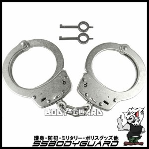 S&Wスミス&ウェッソン手錠 M100-1 シルバー(ニッケル)