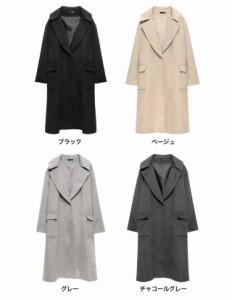 メンズライクな雰囲気のあるチェスターコートは、これ一枚羽織るだけでこなれ感のある着こなしが完成するアイテム