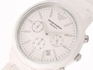 エンポリオ アルマーニ ARMANI CERAMICA クロノグラフ 腕時計 AR1453 並行輸入品 送料無料