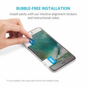 Anker GlassGuard iPhone 7 / 7plss 4.7インチ用 強化ガラス 液晶保護フィルム