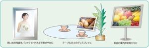 カラーレーザープリンター/コピー用 バックライトフィルム A4/50枚入