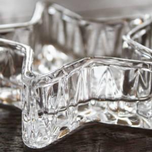 【リゾート雑貨】 翌日出荷 ミニ トレイ スター クリア 海を感じる 雑貨 海 マリン インテリア グラス