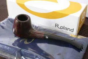 【ローランド・パイプ・HARUNA/43】 ブランド たばこ スムース  丈夫 Roland 人気 おすすめ 喫煙具 パイプ 煙管 楼蘭土 送料無料