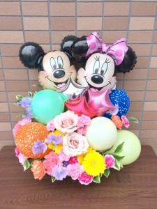 バルーンアレンジ ディズニー  【誕生日祝い・結婚祝い・開店祝い・退職など】