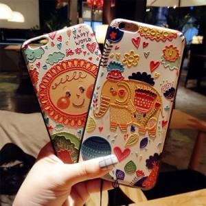 スマホケース iPhone8iPhone8plus iPhone7 iPhone7plus iPhone6s iPhoneplusケースかわいいラストラップアイフォンケースMC1037